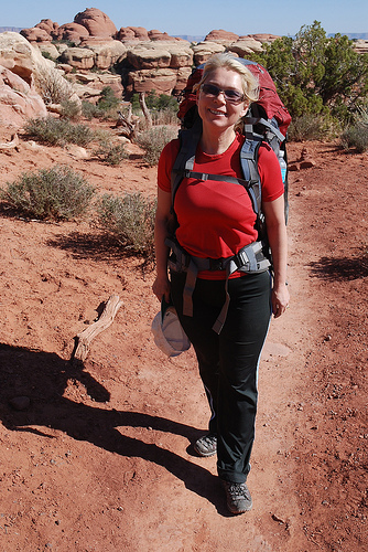 backpacking by Rob Lee on Flickr