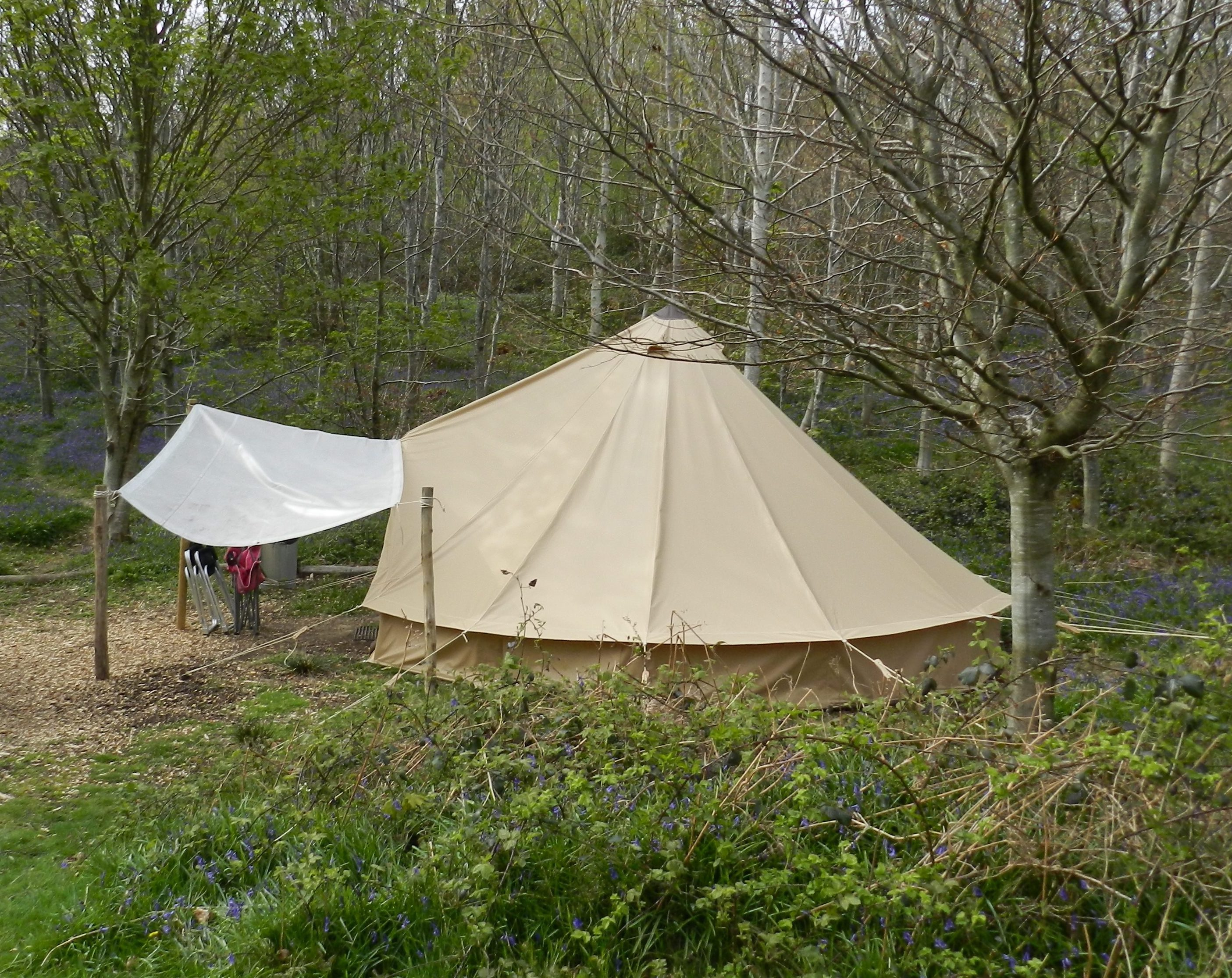 Store a Bell Tent