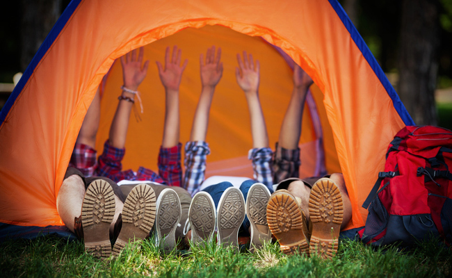 Camping can regulate the clock inside the body