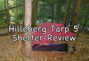 It's easy to adapt the 5-sided Tarp 5 to the local environment, using trees as well as stakes to erect unique shelter shapes.