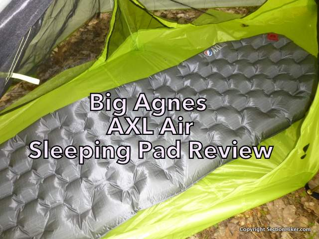 Big Agnes AXL Air Sleeping Pad Review