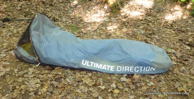 The FK Bivy is designed as a sleeping bag cover to be used together with a tarp
