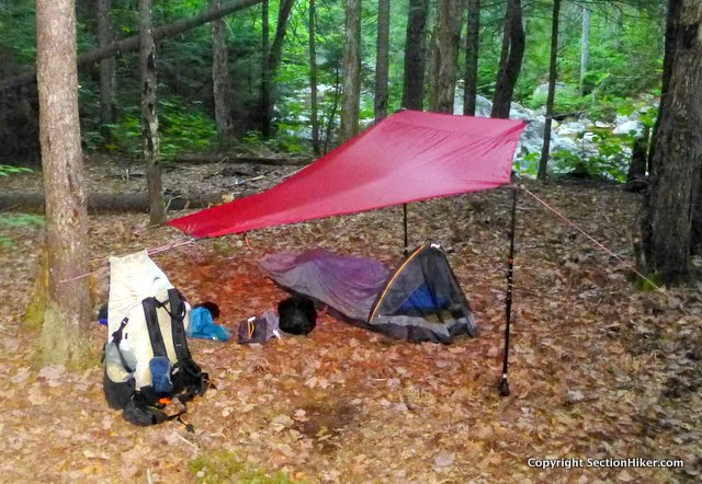 Using a tarp breaks down the barrier between you and the outdoors, unlike a tent which insulates you from it